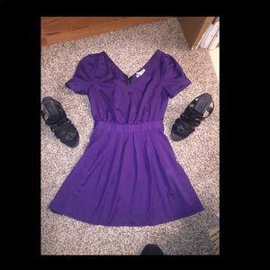 Super cute plum dress